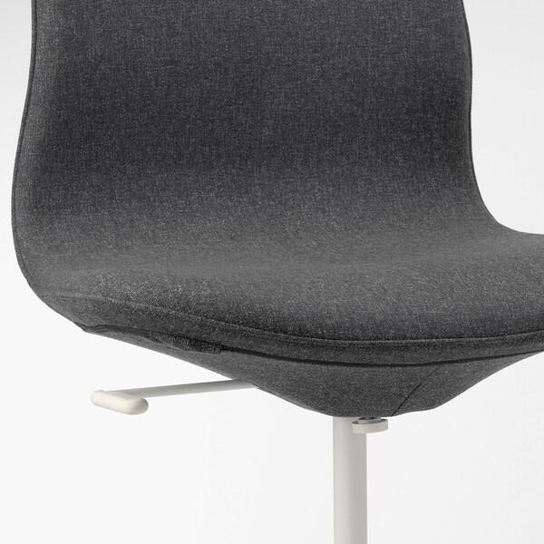 LÅNGFJÄLL Irodai szék, Gunnared sszürke/fehér