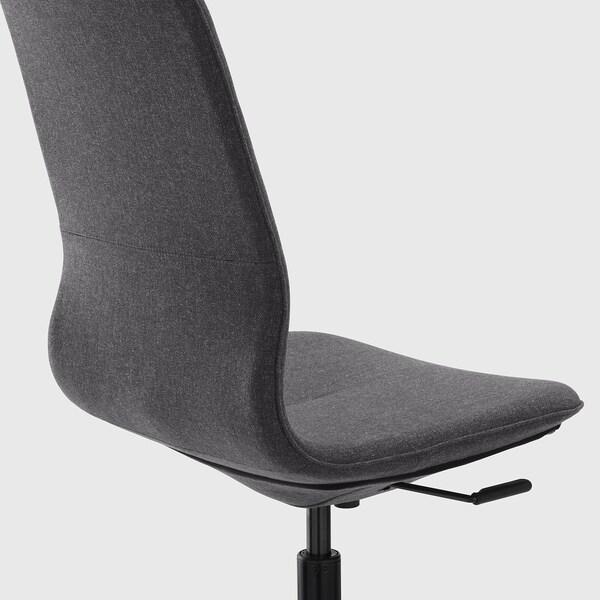 LÅNGFJÄLL Irodai szék, Gunnared sszürke/fekete