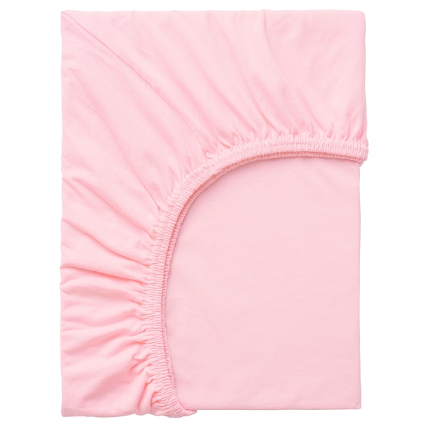 LEN Gumis lepedő, rózsaszín, 80x130 cm