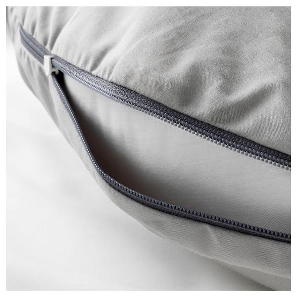 LEN Szoptatós párna, szürke, 60x50x18 cm