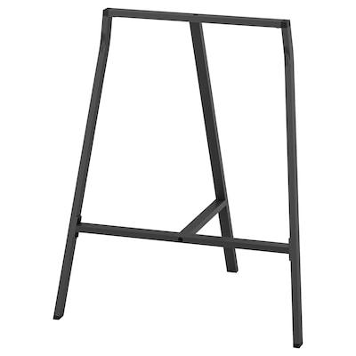 LERBERG Asztalbak, szürke, 70x60 cm