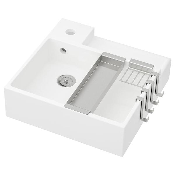 LILLÅNGEN mosdó fehér 41 cm 40 cm 40.5 cm 13 cm