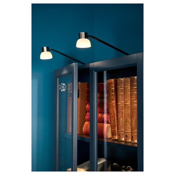 LINDSHULT LED-es szekrényvilágítás, nikkelezett