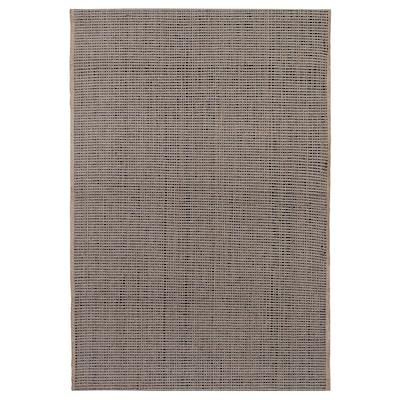 LISBJERG szőnyeg, síkszövött fek/nat 90 cm 60 cm 0.54 m² 1180 g/m²
