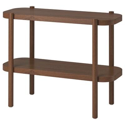 LISTERBY Rakodóasztal, barna, 92x38x71 cm