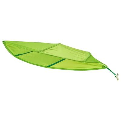 LÖVA ágy baldachin zöld 136 cm 90 cm