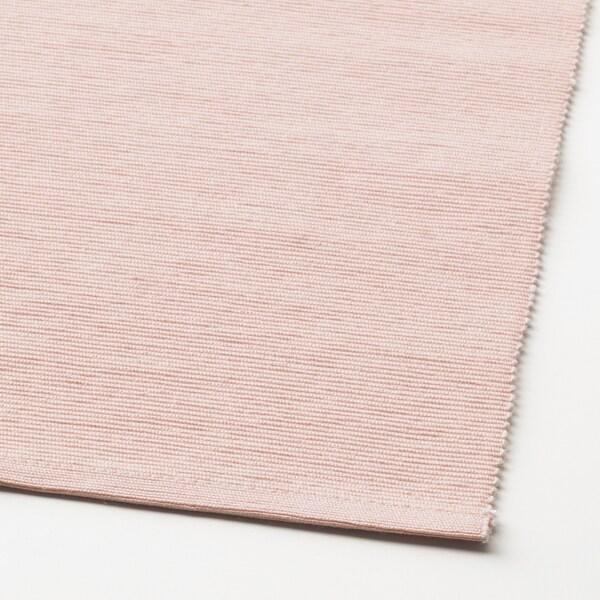 MÄRIT asztali futó rózsaszín 130 cm 35 cm