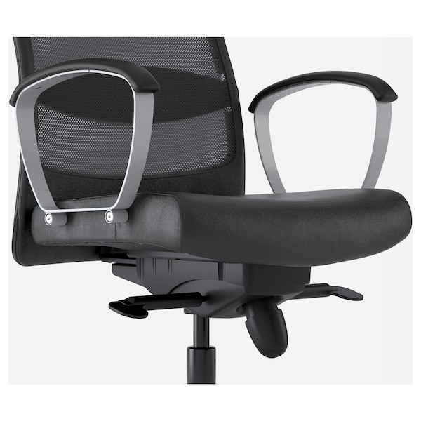MARKUS irodai szék Glose fekete 110 kg 62 cm 60 cm 129 cm 140 cm 53 cm 47 cm 46 cm 57 cm