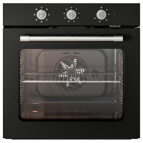 MATTRADITION légkeveréses sütő fekete 59.5 cm 55.0 cm 59.5 cm 0.9 m 30.00 kg