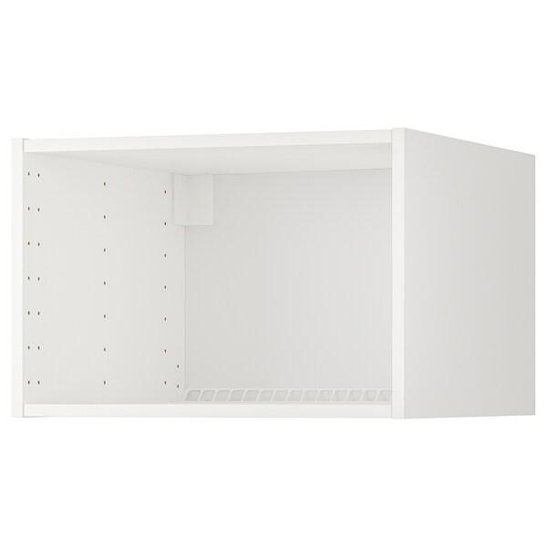 METOD hűtő/fagyasztó felső szekrény váz fehér 59.0 cm 60.0 cm 60.0 cm 60.0 cm 40.0 cm