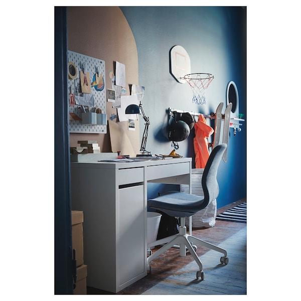 MICKE Íróasztal, fehér, 105x50 cm