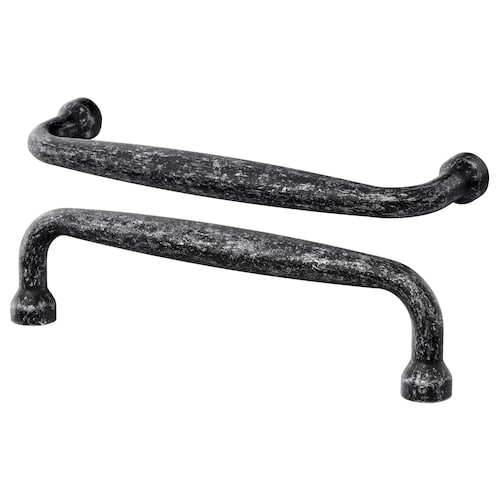 MÖLLARP fogantyú fekete 106 mm 9 mm 28 mm 5 mm 96 mm 2 darabos