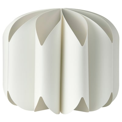 MOJNA Függőlámpaernyő, textil/fehér, 47 cm