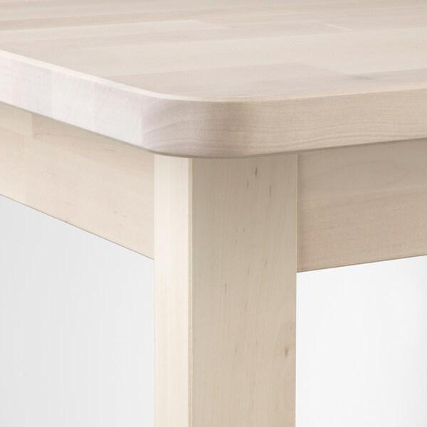 NORRÅKER bárasztal nyír 74 cm 74 cm 102 cm