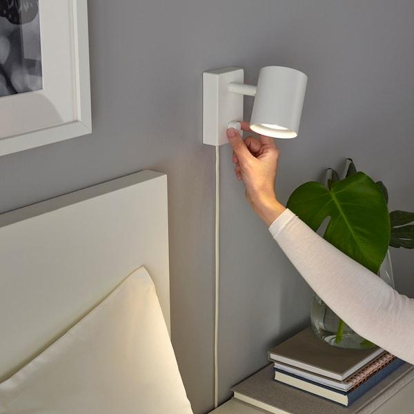 NYMÅNE Fali-/olvasólámpa, fehér