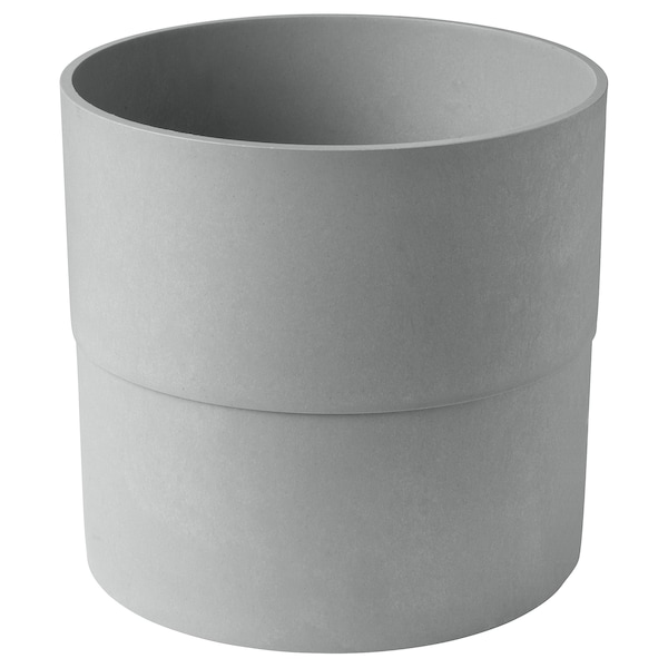 NYPON Kaspó, bel/kültér szürke, 32 cm