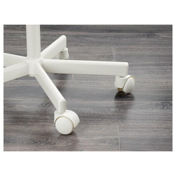 ÖRFJÄLL gyerekforgószék fehér/Vissle rózsaszín 110 kg 53 cm 53 cm 83 cm 39 cm 34 cm 38 cm 49 cm