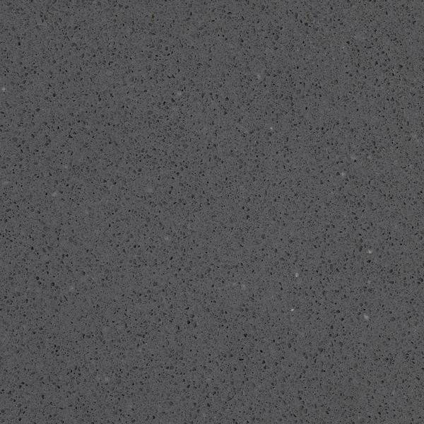 OXSTEN Rendelésre készült munkalap, sszürke kő hat./kvarc, 30-45x3.8 cm