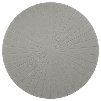 PANNÅ Tányéralátét, szürke, 37 cm