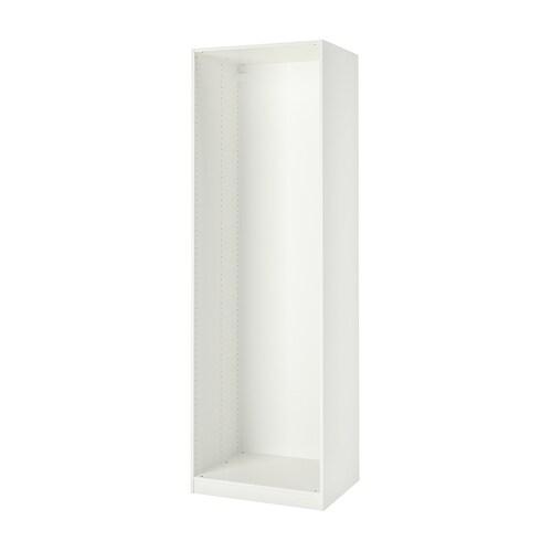 PAX grdváz fehér 74.8 cm 75 cm 58.0 cm 236.4 cm 58 cm 236 cm