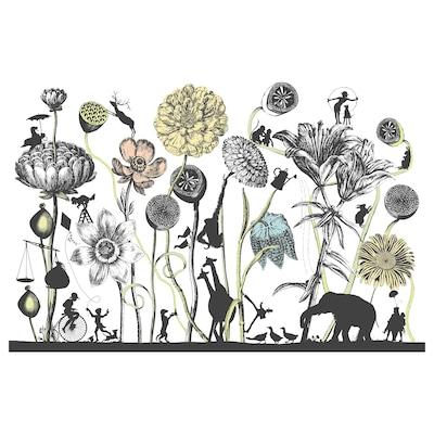 PJÄTTERYD Kép, nagy virágok, 118x78 cm