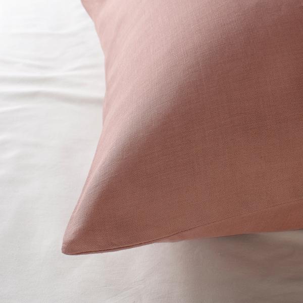 PUDERVIVA párnahuzat sötét rózsaszín 104 négyzethüvelyk 1 darabos 50 cm 60 cm