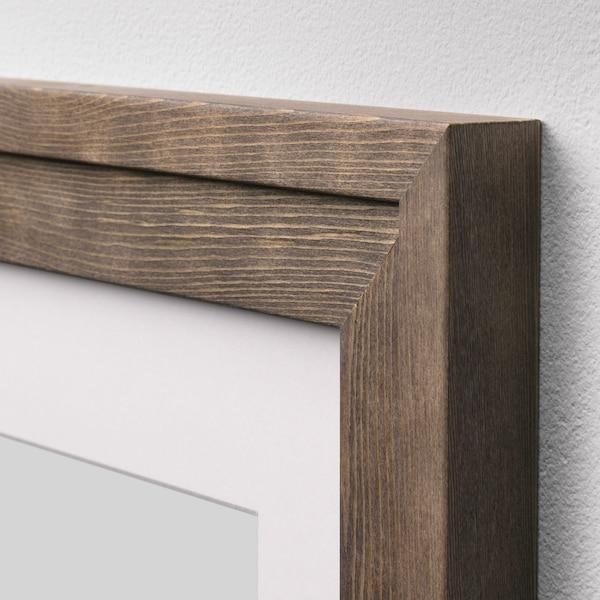 RAMSBORG Képkeret, barna, 21x30 cm
