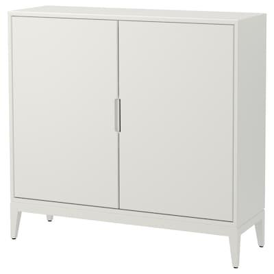 REGISSÖR Szekrény, fehér, 118x110 cm