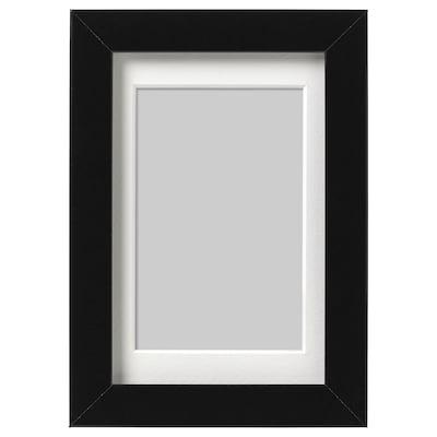 RIBBA Képkeret, fekete, 10x15 cm