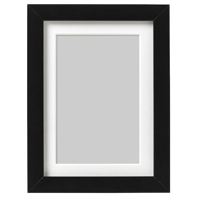 RIBBA Képkeret, fekete, 13x18 cm