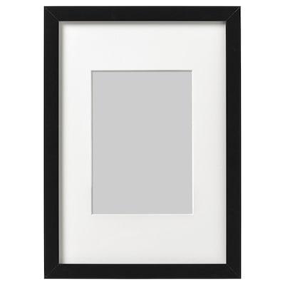 RIBBA Képkeret, fekete, 21x30 cm