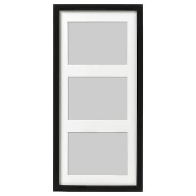 RIBBA Képkeret, fekete, 50x23 cm