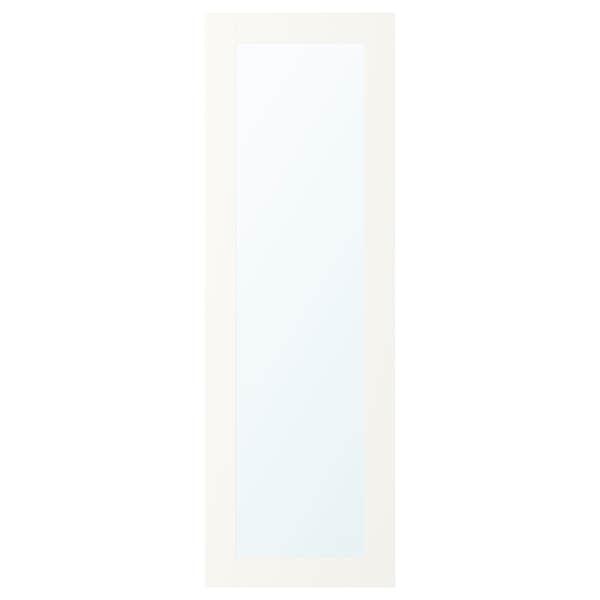 RIDABU Ajtó+sarokpánt, fehér, 40x120 cm