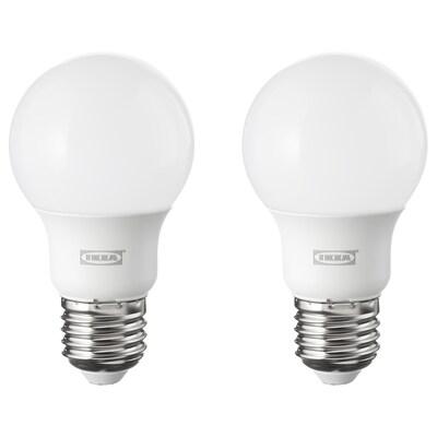 RYET LED-es izzó E27 600 lm kerek opálfeh 2700 kelvin 600 lumen 6.0 W 2 darabos