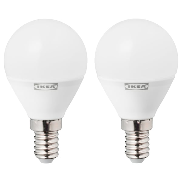 RYET LED izzó E14 470 lumen, kerek opálfeh