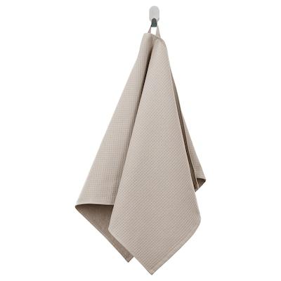 SALVIKEN Törülköző, sötétbézs, 50x100 cm
