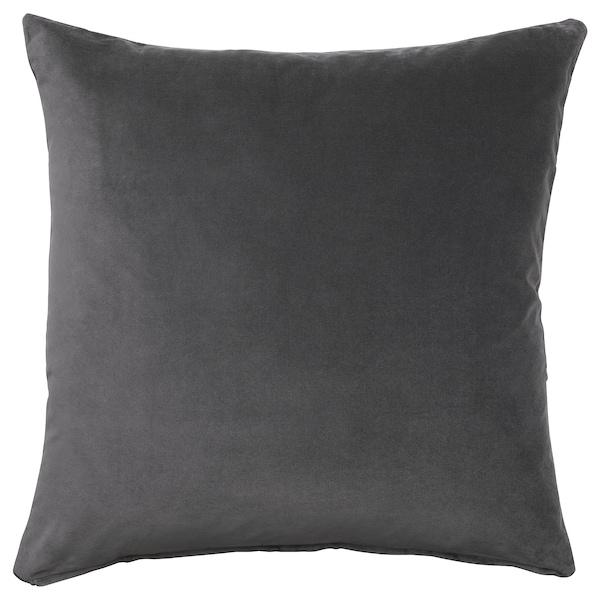 SANELA Díszpárnahuzat, sszürke, 50x50 cm