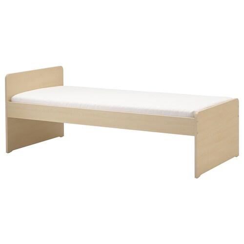 IKEA SLÄKT Ágykeret rácsos ágyalappal