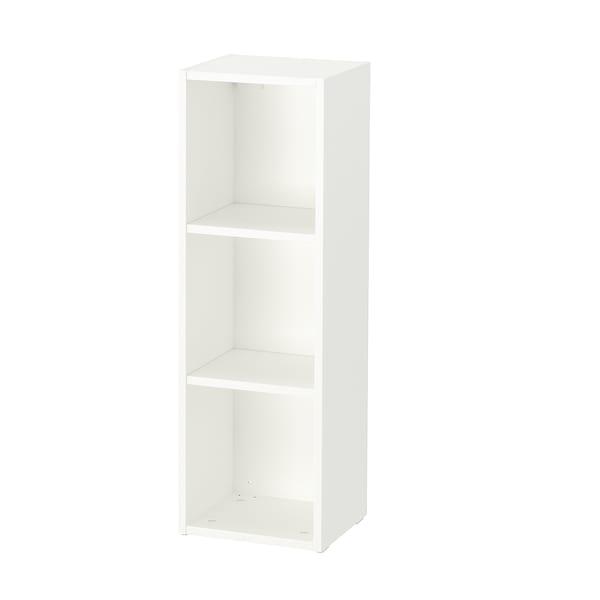 SMÅGÖRA Polcos elem, fehér, 29x88 cm