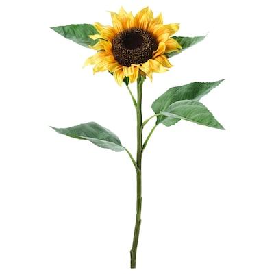 SMYCKA Művirág, napraforgó sárga, 51 cm