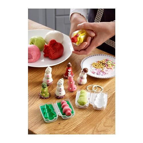 SNÖKUL Csokoládé/marcipán formázó IKEA A formák segítségével könnyen elkészítheted saját csokoládé vagy marcipán édességeidet.