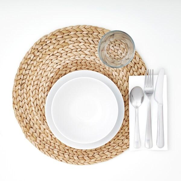 SOARÉ tányéralátét vizi jácint 37 cm