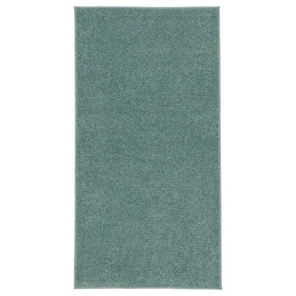 SPORUP Szőnyeg, rövid szálú, szürke-türkiz, 80x150 cm
