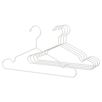 STAJLIG vállfa, bel/kültéri fehér 41 cm 5 darabos