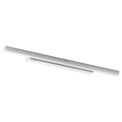 STÖTTA LED-es szekrényvilágítás+érzékelő, elemes fehér, 52 cm