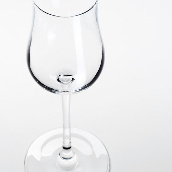 STORSINT Desszertboros pohár, átlátszó üveg, 15 cl