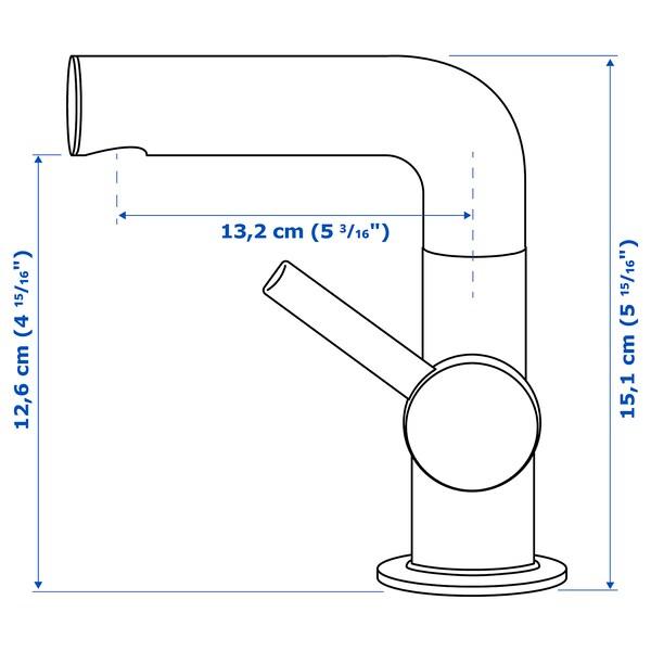 SVENSKÄR fürdőszobai csap/szűrő krómozott 15 cm