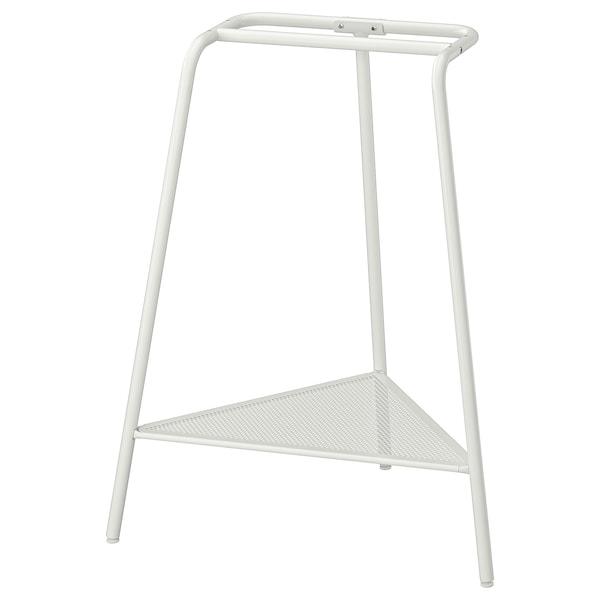 TILLSLAG Asztalbak, fehér fém