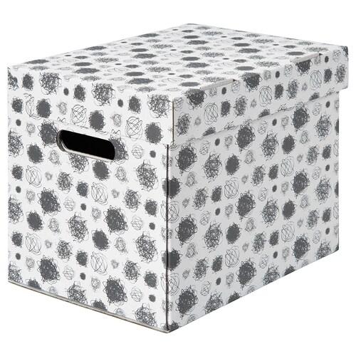 TITTAR doboz+tető 25 cm 34 cm 26 cm