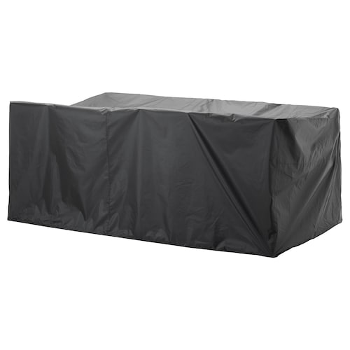 TOSTERÖ huzat kültéri bútorhoz étkezőgarnitúra/fekete 260 cm 148 cm 108 cm